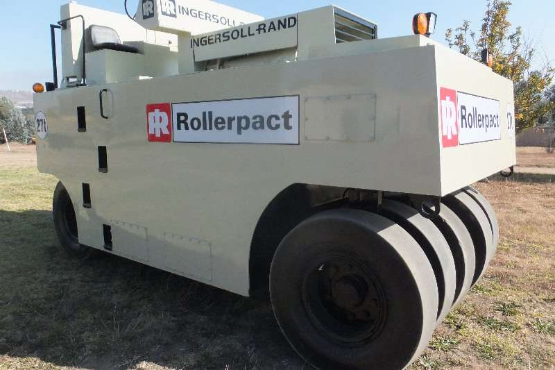 Ingersoll Rand Rollers ingersoll rand 27ton