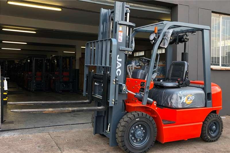 JAC Diesel forklift CPCD20 2.0TON 3M STANDARD Forklifts