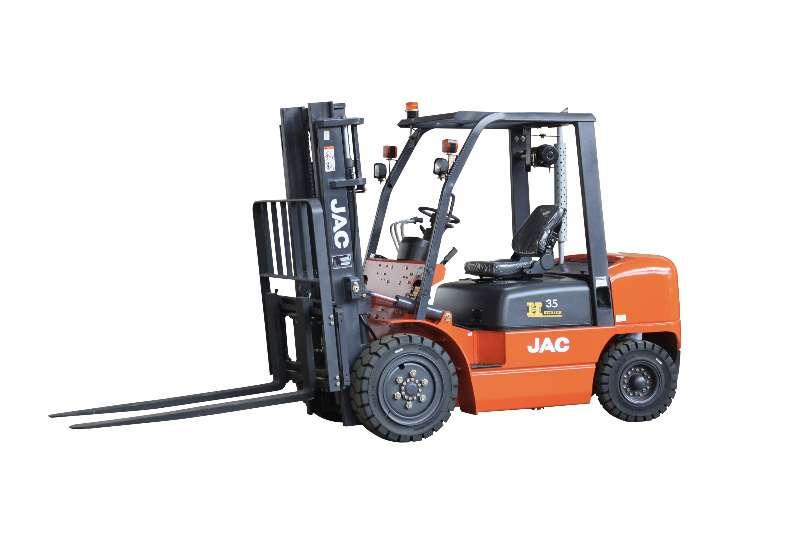 JAC Forklifts Diesel forklift CPCD35 3.5 TON DIESEL FORKLIFT WITH MITSUBISHI ENG