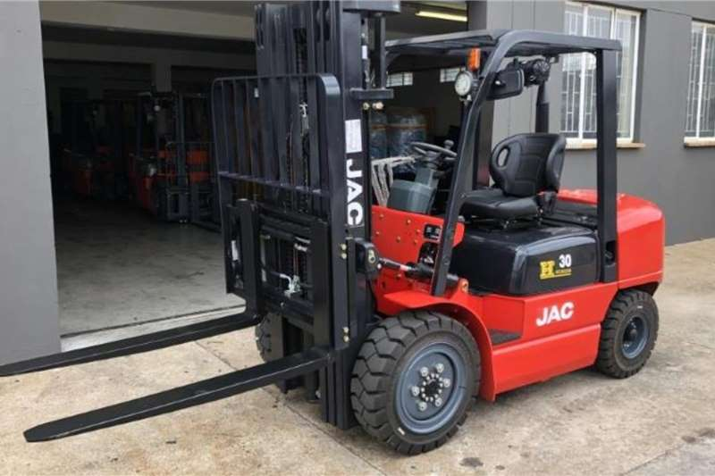 JAC Forklifts Diesel forklift SPECIAL EDITION CPCD30 3 TON 4.8M FULL FREE 2019