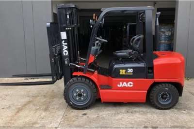 JAC Diesel forklift SPECIAL EDITIONCPCD30 3TON 4.8M FULL FREE Forklifts