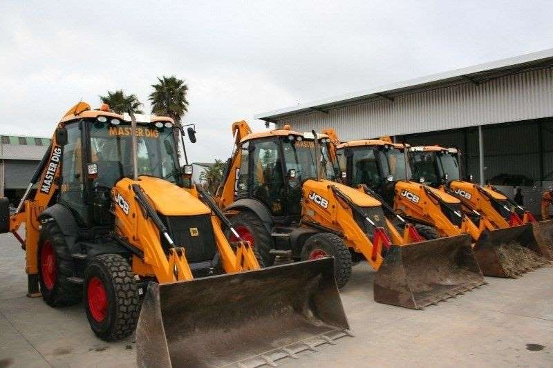 JCB Backhoe loader For Hire 2012