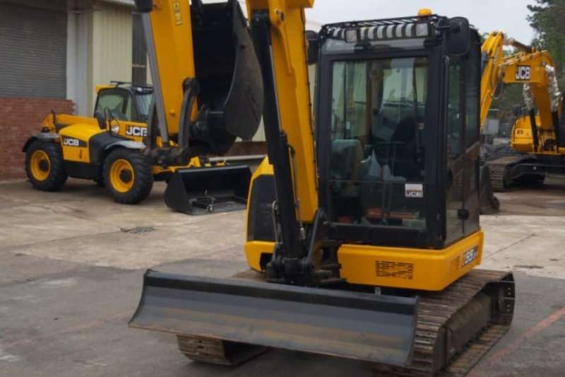 JCB Excavators JCB 55Z Midi Excavator 2019