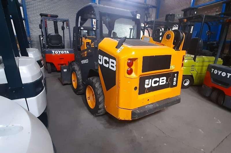 JCB Construction 155 eco boom Skidsteer loader