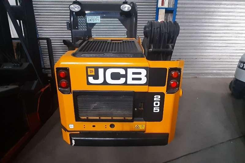 JCB Construction 205 eco power boom Skidsteer loader