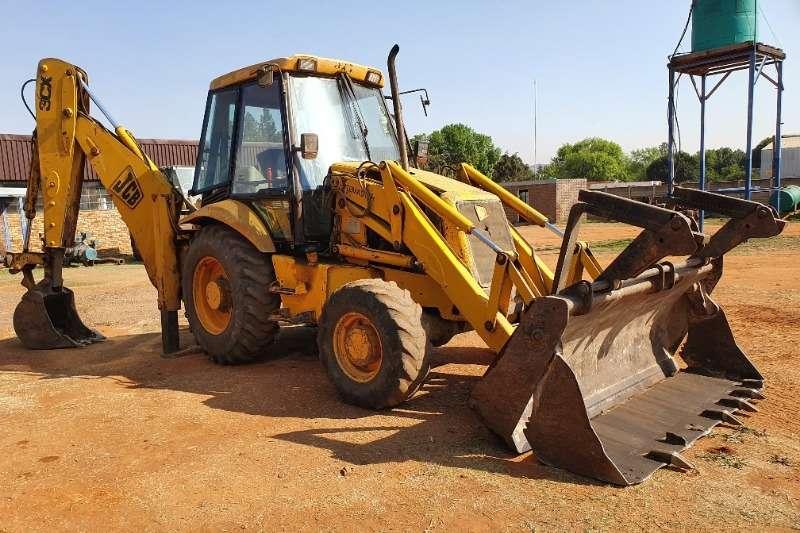 JCB TLBs Construction 3CX (4x4) Sitemaster 2001