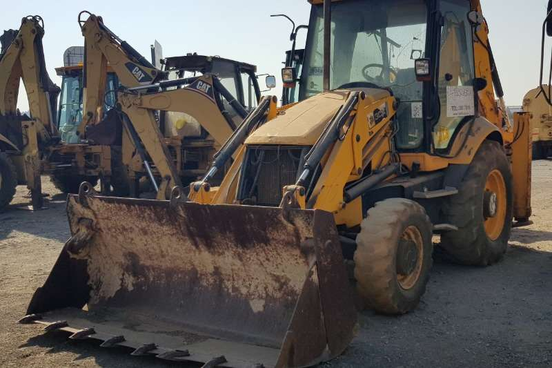 JCB TLBs Construction 3CX 4X4 TLB 2008