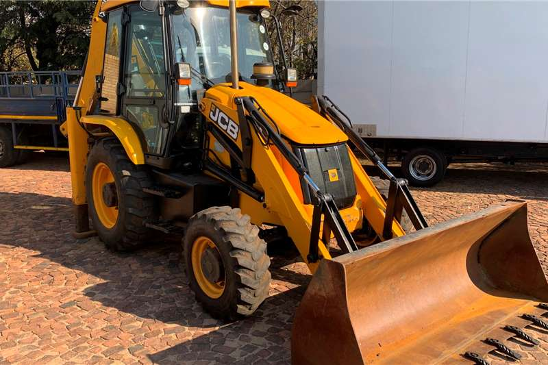 JCB TLBs Construction 3DX 4x4 TLB 2014