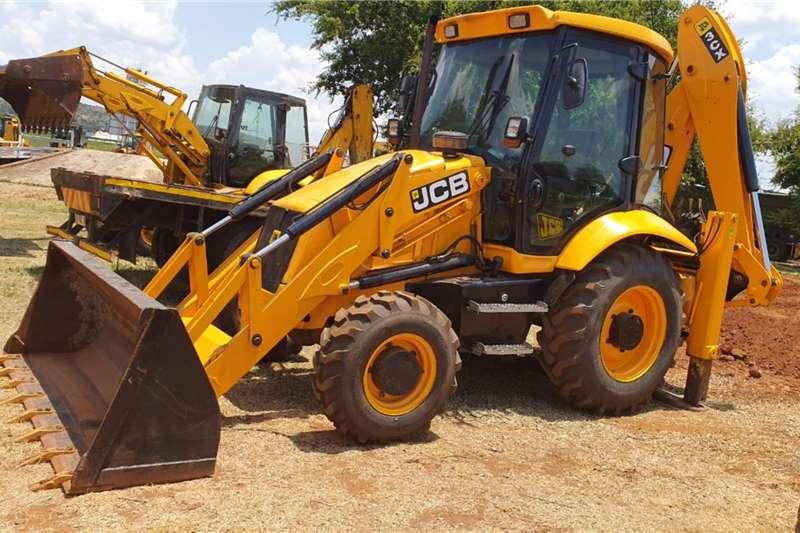 JCB TLBs Construction JCB 3CX 4X4 TLB 2004