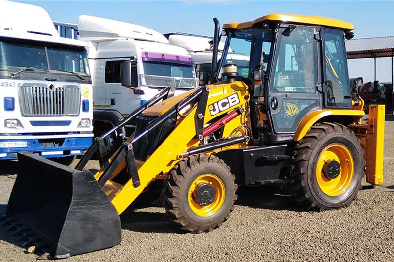 JCB TLBs Construction JCB 3DX 4x4 TLB 2015