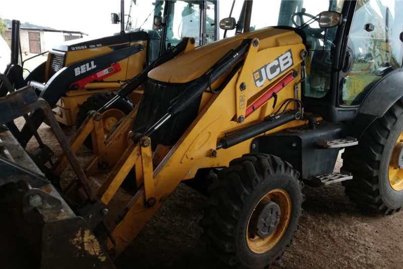 JCB TLBs Farming 3 CX Eco 4x4 2014