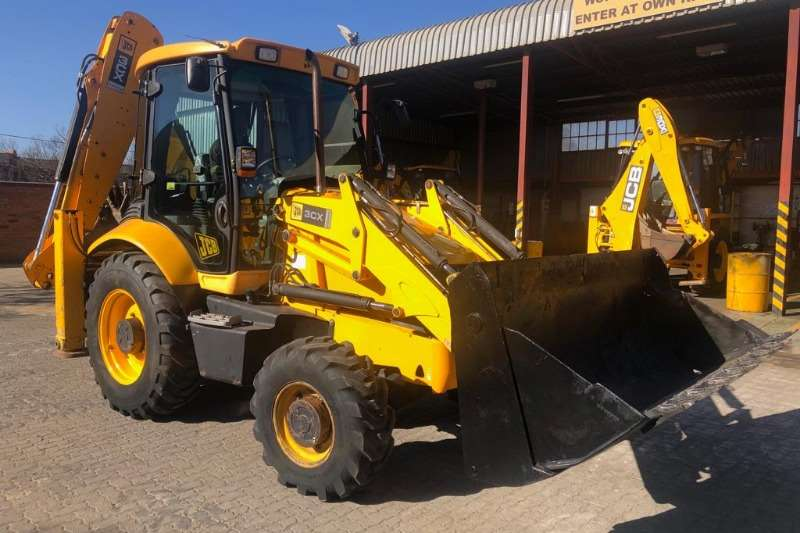 JCB TLBs JCB 3CX 4x4 Backhoe Loader TLB 2008