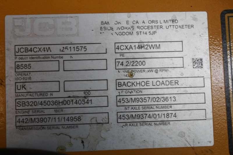 John Deere Backhoe loader JCB 2019