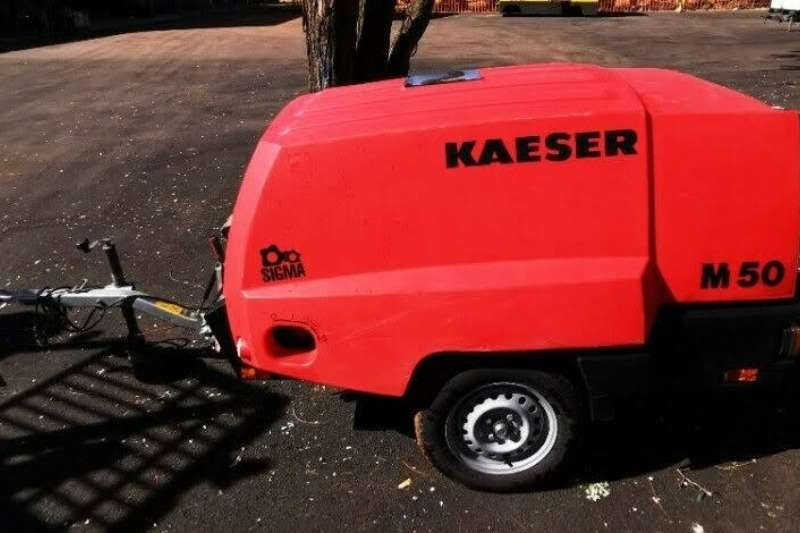Kaeser Compressors 185Cfm 7 bar Mobile Diesel 2018