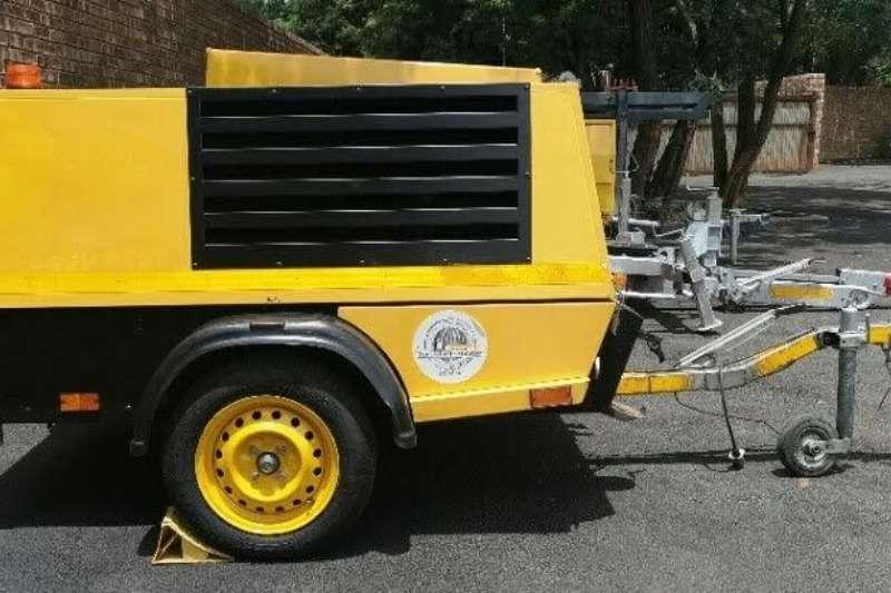 Kaeser Compressors 200CFM Mobile Diesel Compressor 2009