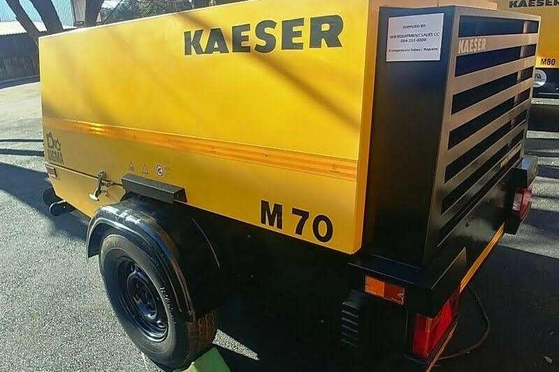 Kaeser Compressors 250CFM Mobile Diesel Compressor 2013