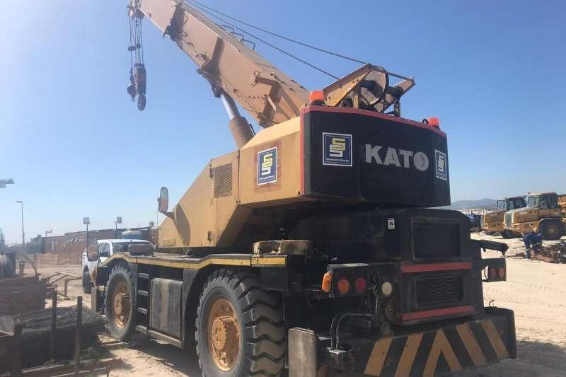 Kato Cranes Rough terrain KR20H 3 MOBILE CRANE 1990