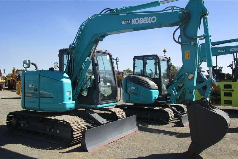 Kobelco SK75SR 3 Excavators