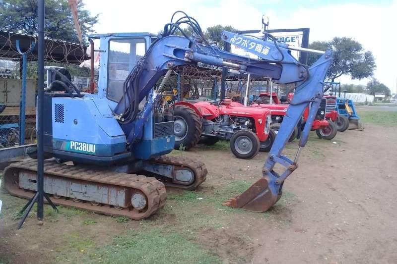 Komatsu Excavators Excavator 2014