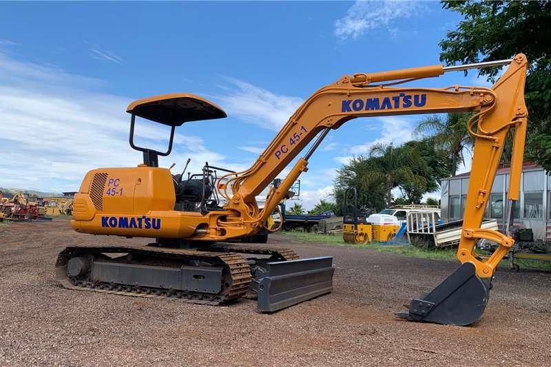 Komatsu Komatsu PC 45 Mini Excavator Excavators