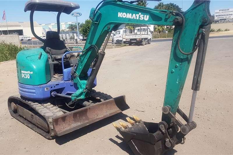 Komatsu Excavators Komatsu PC30