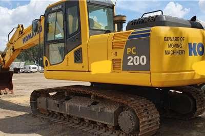 Komatsu PC200#8 Excavators
