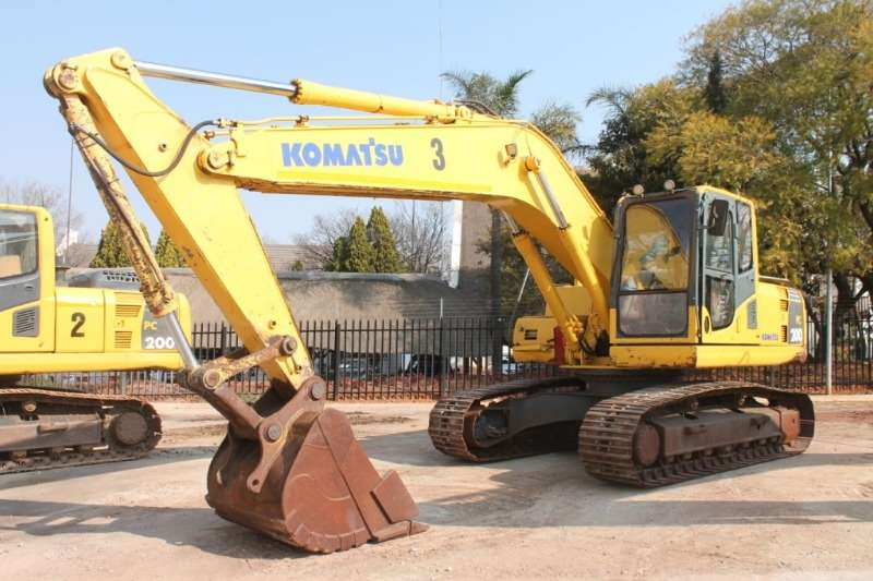 Komatsu Excavators PC200 8 Excavator 2012