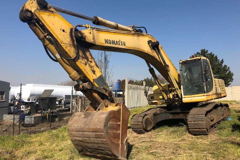 Komatsu Excavators PC300 6