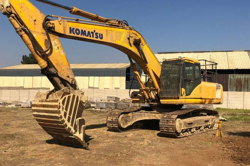 Komatsu Excavators PC300 7