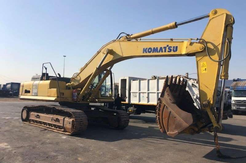Komatsu Excavators PC350 8 2011