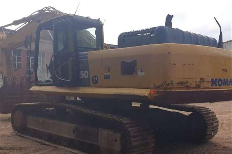 Komatsu Excavators PC350 LC 8 2012