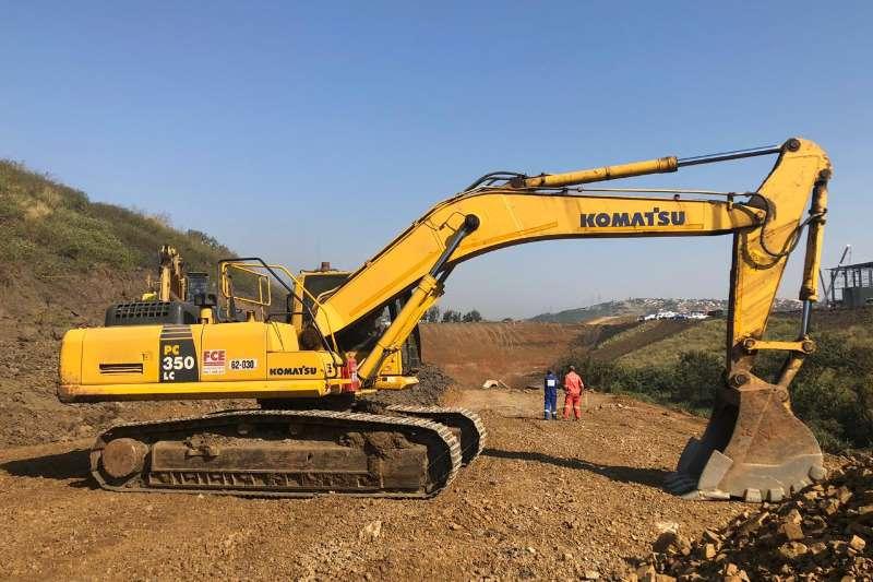 Komatsu Excavators PC350 LC 8 35TON 2015