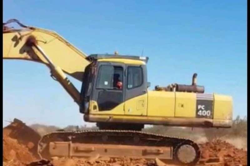 Komatsu Excavators PC400 2010