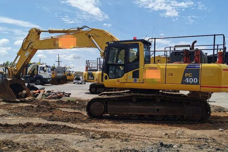 Komatsu Excavators PC400 8 2015