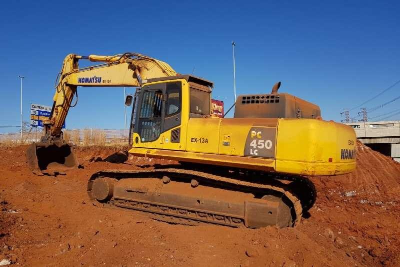 Komatsu Excavators PC450LC 8 2013
