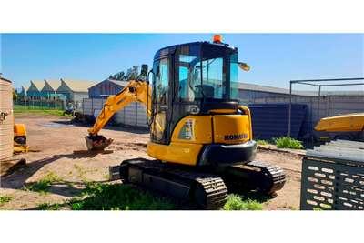 Komatsu PC55 MR Excavators