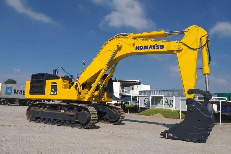 Komatsu Excavators PC600 2008