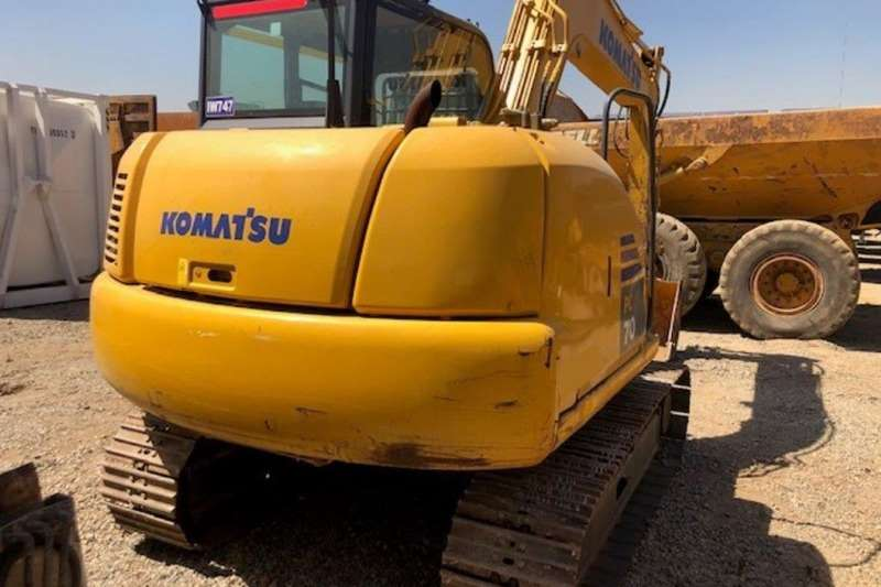 Komatsu Excavators PC70 8 2014