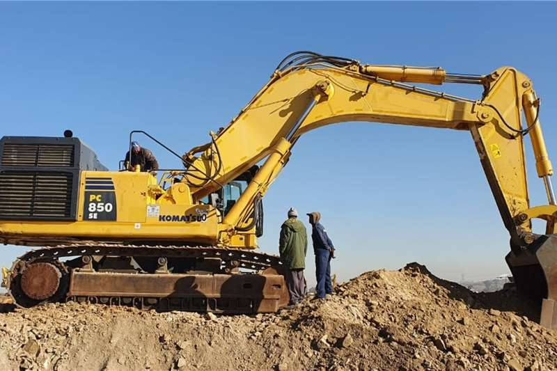 Komatsu PC850 Excavators