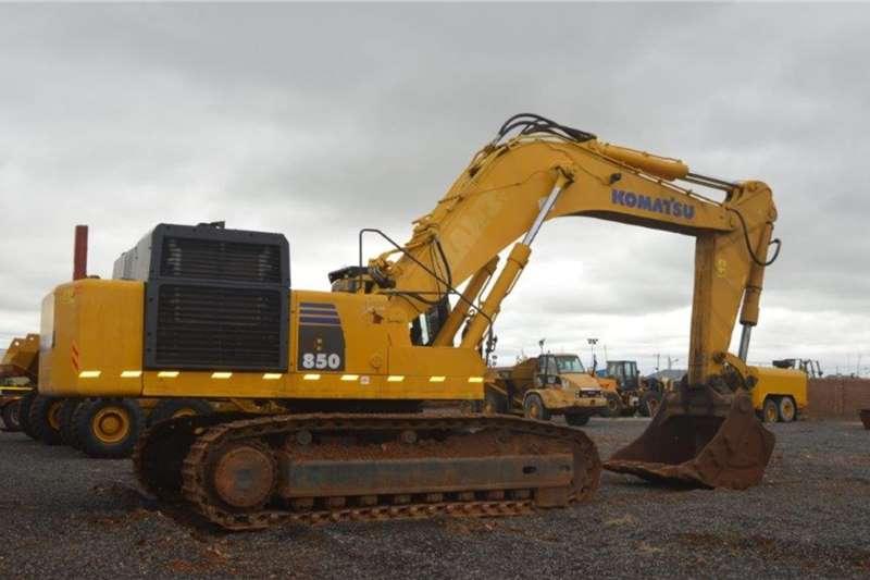 Komatsu PC850 8 Excavators
