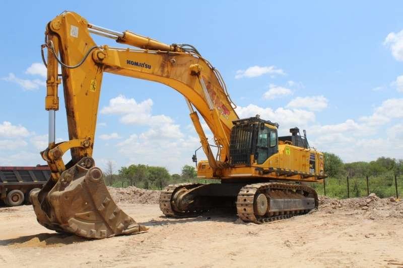 Komatsu Excavators PC850 8 Excavator 2014