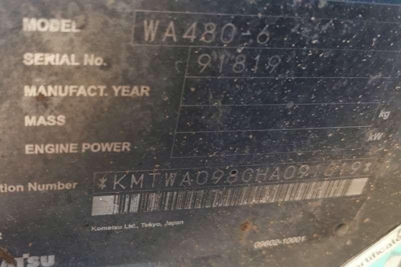 Komatsu WA480 6 FELs