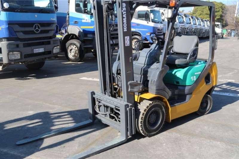 Komatsu Forklifts 1.8 Ton Forklift 2006