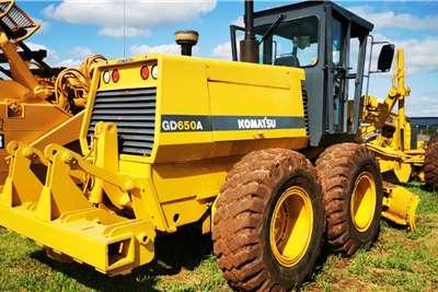 Komatsu GD650 Motor Grader Graders