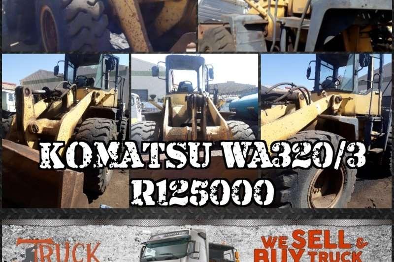 Komatsu TLBs Construction Komatsu WA320/3