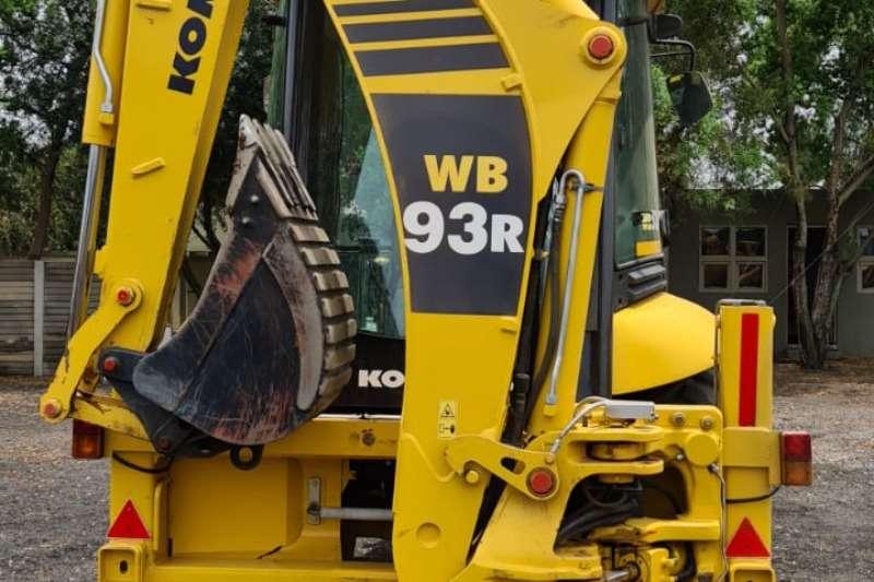 Komatsu Construction WB93R TLBs