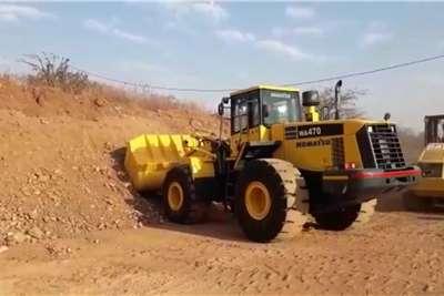 Komatsu WA470 Wheel loader