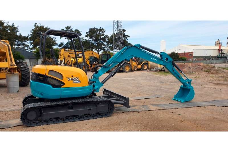 Kubota Excavators U50 2017