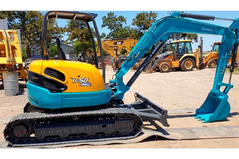 Kubota U50 5 Excavators