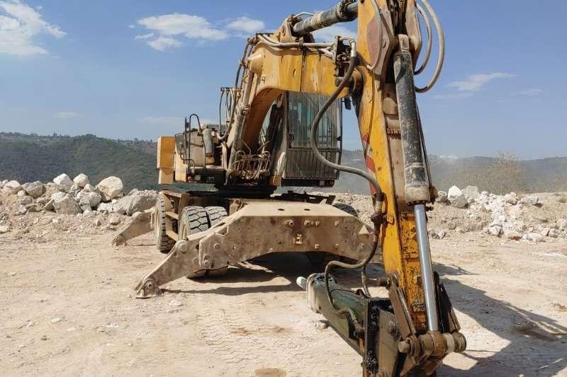 Liebherr Excavators 924 Wheeled Excavator 2008